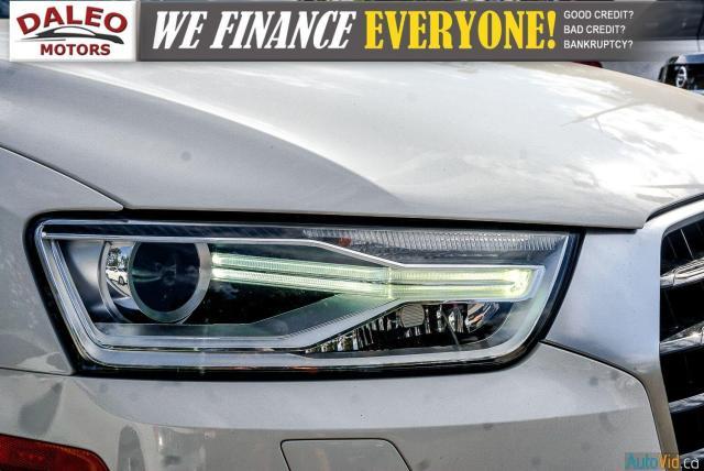 2016 Audi Q3 Progressiv / LEATHER / NAVI / PANOROOF /BACKUP CAM Photo2