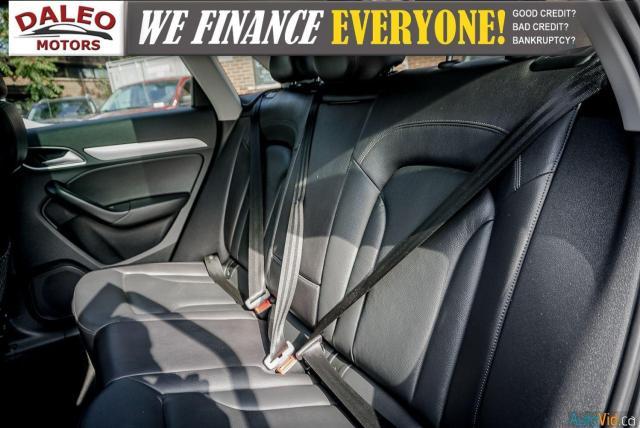 2016 Audi Q3 Progressiv / LEATHER / NAVI / PANOROOF /BACKUP CAM Photo15