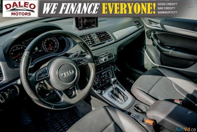 2016 Audi Q3 Progressiv / LEATHER / NAVI / PANOROOF /BACKUP CAM Photo23