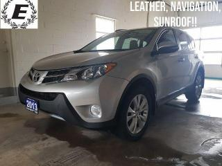 Used 2013 Toyota RAV4 Limited/NAVIGATION/LEATHER/SUNRROF!! for sale in Barrie, ON