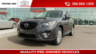 Used 2015 Mazda CX-5 GT POWER HEATED LEATHER BUCKETS, NAVIGATION, BOSE AUDIO SYSTEM, BACK UP CAMERA for sale in Moose Jaw, SK