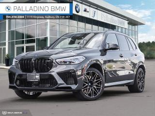 New 2021 BMW X5 M Competition Ultimate Package, Dravit Grey Metallic, Bowers & Wilkins Diamond Surround System for sale in Sudbury, ON