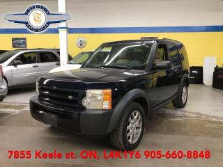 Used 2007 Land Rover LR3 7 Pass, Dual Roof, 2 Years Warranty for sale in Vaughan, ON