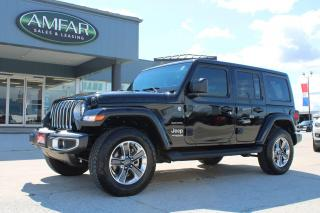 Used 2021 Jeep Wrangler Unlimited Sahara for sale in Tilbury, ON