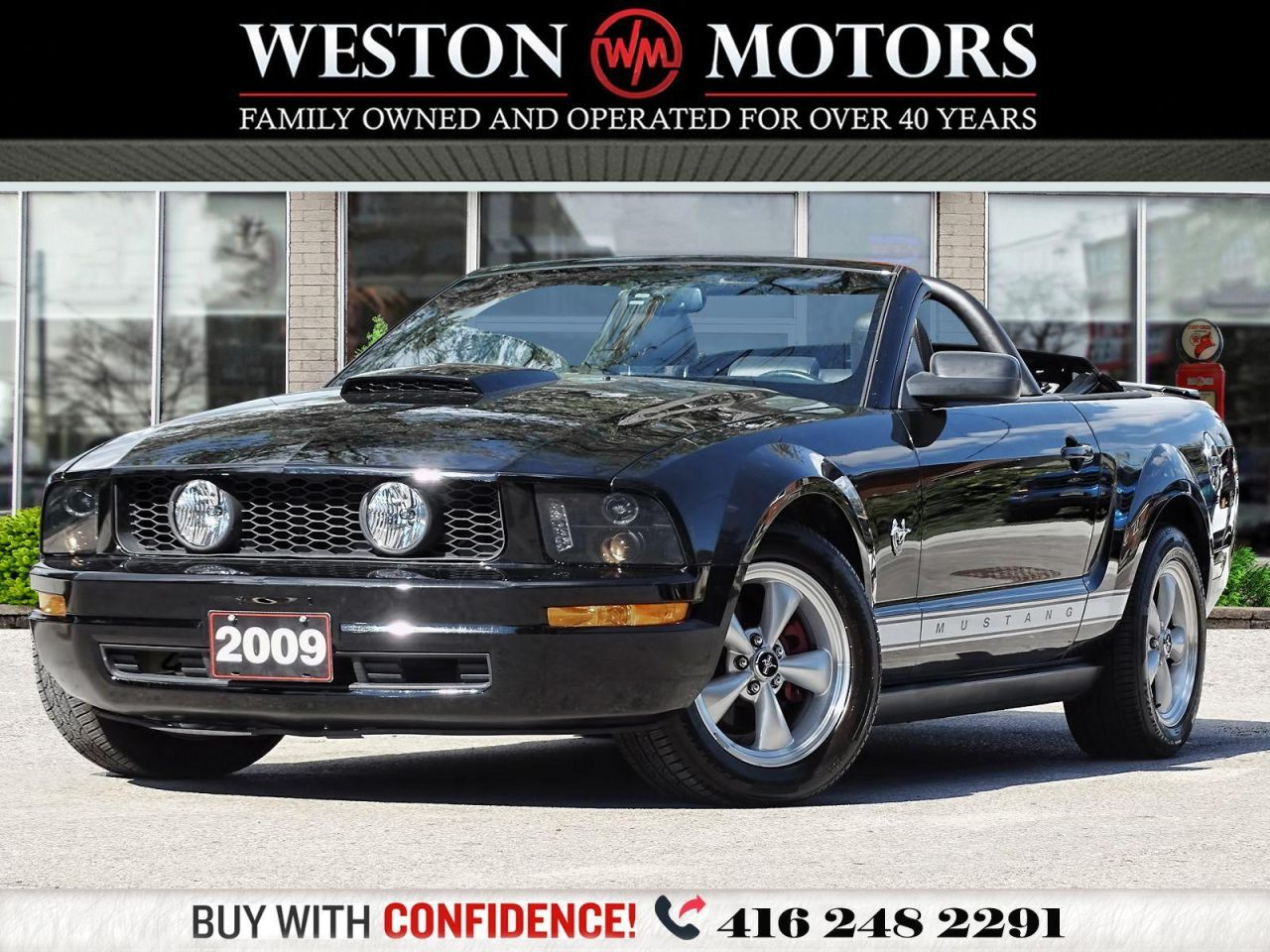 2009 Ford Mustang CONVERTIBLE*LEATHER*PWR GROUP*