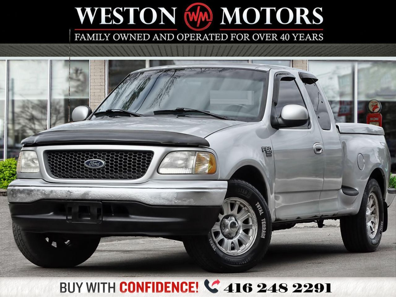2001 Ford F-150 TRITON*SPORT*V8*BED COVER*SOLD AS IS!!*