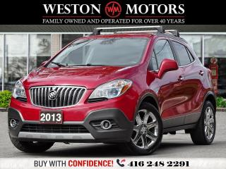 Used 2013 Buick Encore LEATHER*NAVI*BTOOTH*SUNROOF* for sale in Toronto, ON