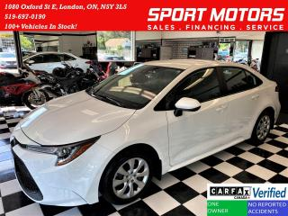 Used 2020 Toyota Corolla LE+Camera+Apple Play+Adaptive Cruise+CLEAN CARFAX for sale in London, ON