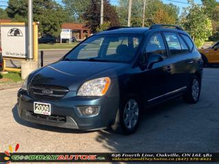 Used 2009 Kia Rondo EX|LOW KM|NO ACCIDENT|BLUETOOTH|CERTIFIED for sale in Oakville, ON