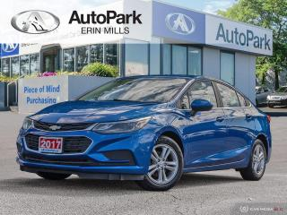 Used 2017 Chevrolet Cruze LT Auto SUNROOF, REMOTE START, HEATED SEATS, BOSE SPEAKERS, REAR CAMERA, BLUETOOTH for sale in Mississauga, ON