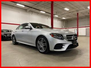 Used 2018 Mercedes-Benz E-Class E300 4MATIC HUD DISTRONIC PREMIUM TECHNOLOGY EXCLUSIVE CLEAN CARFAX! for sale in Vaughan, ON