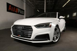 Used 2018 Audi A5 Coupe 2.0 TFSI quattro Progressiv S tronic for sale in North York, ON