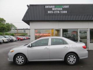 2013 Toyota Corolla CE, 4 DR, MAN, LOW KM, AIR CONDITIONING, CERTIFIED