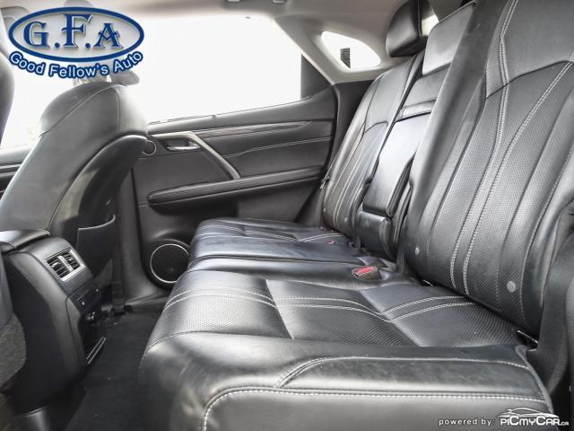 2017 Lexus RX 450h HYBRID, AWD, LEATHER SEATS, SUNROOF, NAVIGATION Photo10