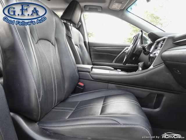 2017 Lexus RX 450h HYBRID, AWD, LEATHER SEATS, SUNROOF, NAVIGATION Photo11