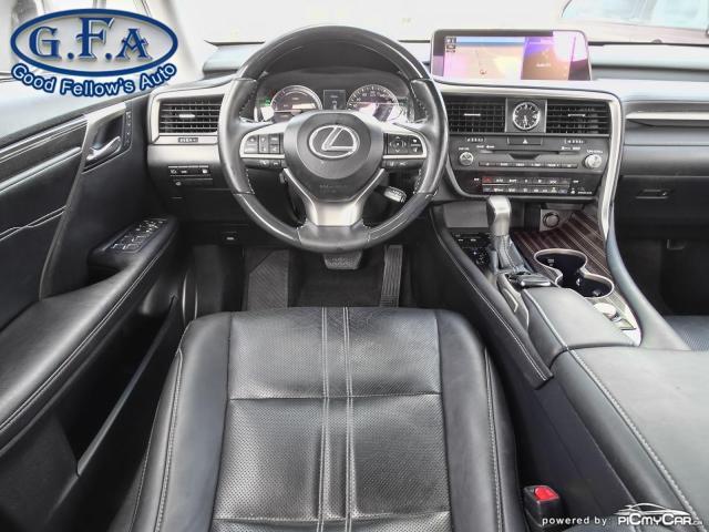 2017 Lexus RX 450h HYBRID, AWD, LEATHER SEATS, SUNROOF, NAVIGATION Photo14