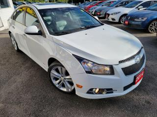 Used 2014 Chevrolet Cruze 2LT/CAMERA/LEATHER/ROOF/LOADED/ALLOYS for sale in Scarborough, ON