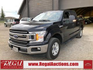 Used 2018 Ford F-150 XLT SUPERCREW SWB 3.5L for sale in Calgary, AB