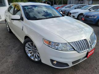Used 2009 Lincoln MKS AWD/AWD/NAVI/CAMERA/DUALROOF/LOADED/ALLOYS for sale in Scarborough, ON