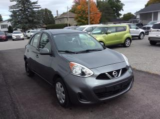 Used 2017 Nissan Micra SV A/C. POWER GROUP. BLUETOOTH. for sale in Richmond, ON
