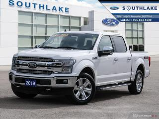 Used 2019 Ford F-150 Lariat LEATHER|MOONROOF| for sale in Newmarket, ON