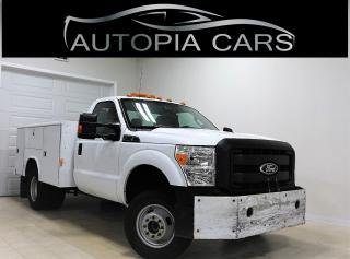 Used 2011 Ford F-350 4WD REG CAB SUPER DUTY XL ACCIDENT FREE for sale in North York, ON