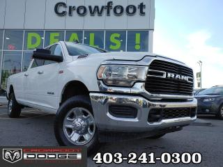 Used 2019 RAM 2500 BIG HORN WITH 6.4L HEMI CREWCAB 4X4 for sale in Calgary, AB