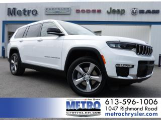 New 2021 Jeep Grand Cherokee L Limited for sale in Ottawa, ON