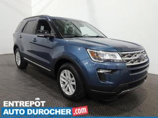 Used 2018 Ford Explorer XLT 4X4 7 passagers - Navigation - Climatiseur for sale in Laval, QC