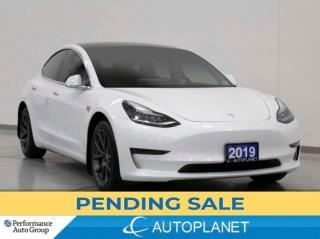 Used 2019 Tesla Model 3 Standard Range Plus, RWD, Navi, 402Km Range! for sale in Brampton, ON