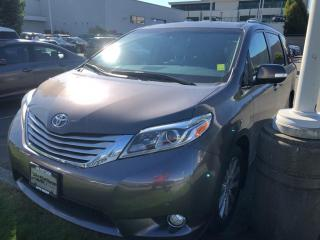 Used 2015 Toyota Sienna XLE 7 Passenger for sale in North Vancouver, BC
