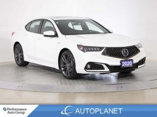 Used 2020 Acura TLX AWD, A-Spec, Back Up Cam, Sunroof,Lane Keep Assist for sale in Clarington, ON