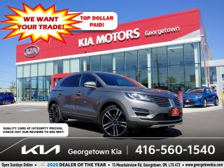 Used 2017 Lincoln MKC RESERVE | CLN CRFX| NAV| PANO ROOF| HTD SEATS| 76K for sale in Georgetown, ON