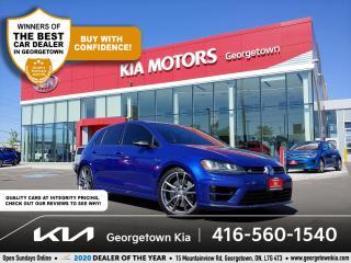 Used 2017 Volkswagen Golf R R   LTHR   NAV   BU CAM   HTD SEATS   B/T   TINTS for sale in Georgetown, ON