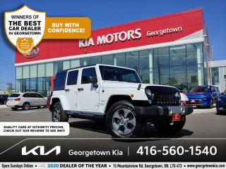Used 2018 Jeep Wrangler JK Unlimited Sahara 4x4 | CLN CRFX | NAV | TINTS | ALLOYS | for sale in Georgetown, ON
