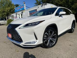 Used 2020 Lexus RX 350 RX 350 Auto L *7 SEATS*NAVI*BLINDSPOT*ACCIDENT FREE for sale in Brampton, ON