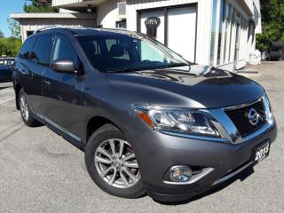 Used 2015 Nissan Pathfinder SL 4WD - LEATHER! BACK-UP CAM! BSM! 7 PASS! for sale in Kitchener, ON