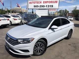 Used 2019 Volkswagen Jetta HIGHLINE Navigation/Leather/Pano Sunroof*$199/bw for sale in Mississauga, ON