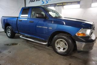 Used 2011 Dodge Ram 1500 V8 HEMI 4x4 CERTIFIED 2YR WARRANTY *FREE ACCIDENT* RUNNING BOARDS CRUISE CHROME for sale in Milton, ON