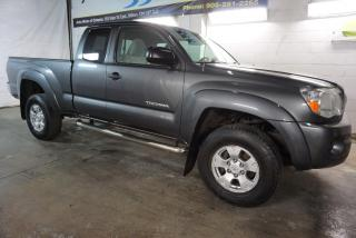 Used 2011 Toyota Tacoma 4x4 PREMUIM PKG CERTIFIED 2YR WARRANTY *FREE ACCIDENT* ALLOYS CRUISE TOW HITCH RUNNING BOARDS for sale in Milton, ON
