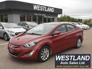 Used 2015 Hyundai Elantra Sport for sale in Pembroke, ON