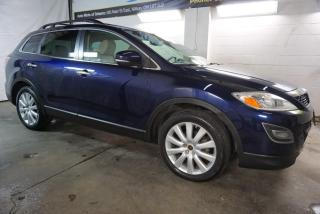 Used 2010 Mazda CX-9 GT AWD 7 PSSNGRS CAMERA CERTIFIED 2YR WARRANTY SUNROOF BLUETOOTH HEATED LEATHER ALLOYS for sale in Milton, ON