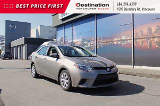 Used 2014 Toyota Corolla LE - Non Smoker, Like New! for sale in Vancouver, BC