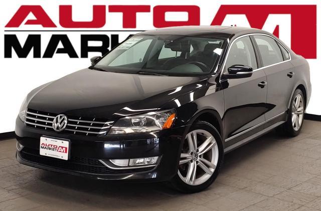 2013 Volkswagen Passat Highline Certified!Navigation!Leather!WeApproveAllCredit!
