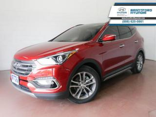 Used 2017 Hyundai Santa Fe Sport 1 OWNER   LOW KM   FULLY SERVICED HERE  - $183 B/W for sale in Brantford, ON