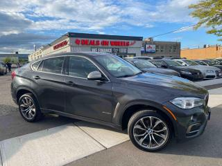 Used 2018 BMW X6 xDrive35i Sunroof, Blindspot Detection, Lane Detection, Apple Carplay for sale in Oakville, ON