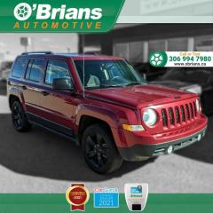 Used 2015 Jeep Patriot Altitude w/4WD, Cruise Control, Air Conditioning for sale in Saskatoon, SK