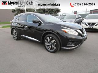 Used 2016 Nissan Murano Platinum  - Sunroof -  Navigation for sale in Ottawa, ON