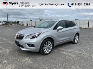 Used 2017 Buick Envision Premium II  - Navigation -  Leather Seats for sale in Orleans, ON