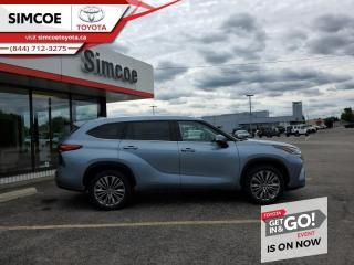 New 2021 Toyota Highlander Platinum  - Head-Up Display for sale in Simcoe, ON